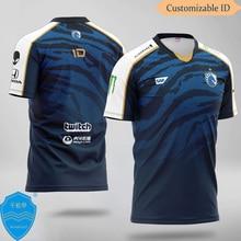 Team Liquid CSGO Custom Name T-shirt Dota2 E-sports Uniform