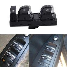 SPEEDWOW Master Power Window Control Switch Button For Audi A3 8P A4 S4 RS4 B6 B7 A6 S6 RS6 C6 Q7 4F0959851H/4F0 959 851H Switch dwcx 8e0959851b black car electric power master window control switch fit for audi a4 b6 b7