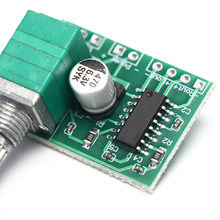 Mini PAM8403 Audio USB Power Amplifier Board DC 5V 3W+3W Dual Channel Amp Module(China)