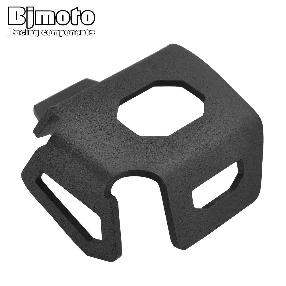 BJMOTO Motorcycle Accessories Aluminum Rear Brake Fluid Reservoir Guard Cover Protect For <font><b>BMW</b></font> F650GS <font><b>G</b></font> <font><b>650</b></font> GS F800GS F800R image