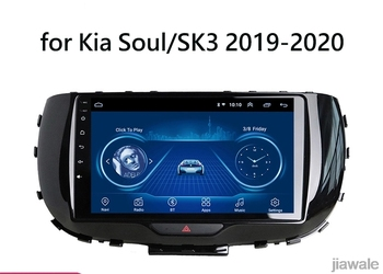 9 octa core 1280*720 QLED screen Android 10 Car GPS radio Navigation for Kia Soul 2019-2020 image