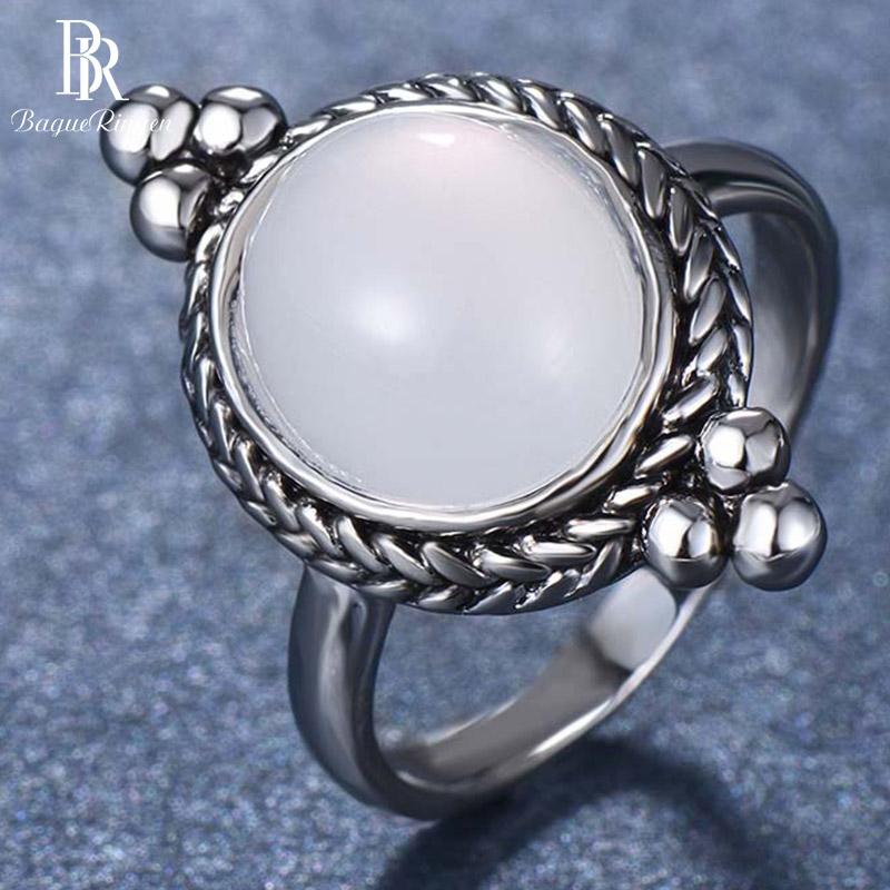 Bague Ringen <font><b>Sterling</b></font> <font><b>silver</b></font> <font><b>925</b></font> jewelry <font><b>Rings</b></font> <font><b>for</b></font> women <font><b>men</b></font> couple Lovers <font><b>ring</b></font> Neutral Vintage Style Party Dating Birthday gift image