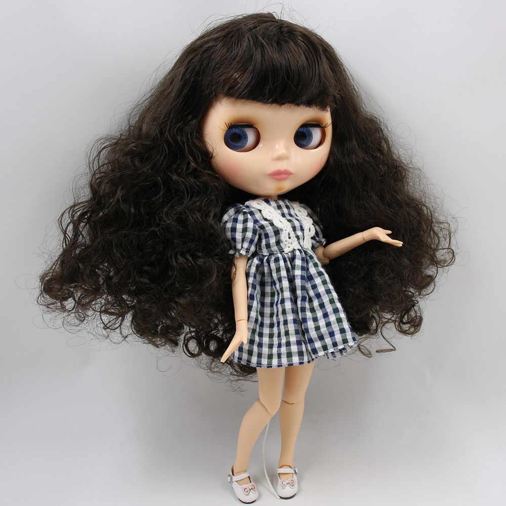 Muñeca Blyth icy n. ° 1 cara brillante piel natural articulación cuerpo 1/6 BJD precio especial 1/4 BJD, Pullip, Jerryberry, regalo de juguete Licca