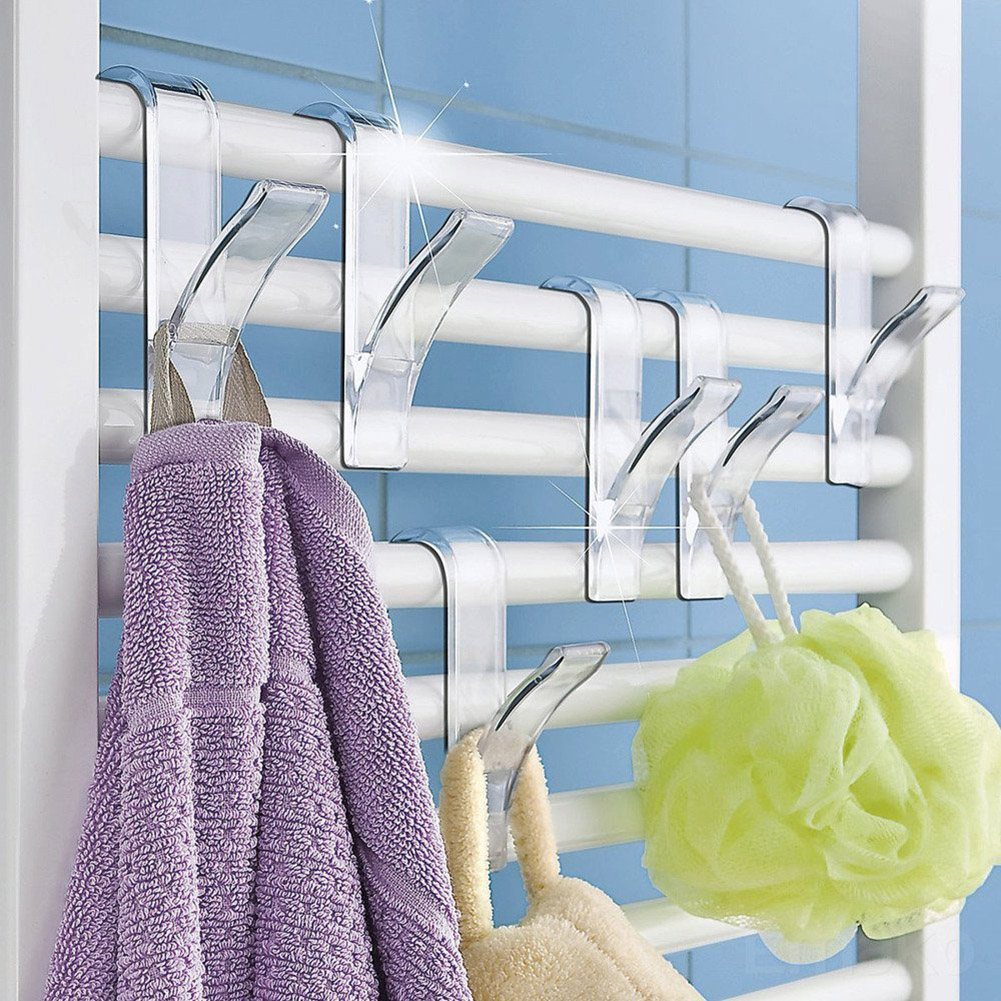 Hanger For Heated Towel Radiator Rail Bath Hook Holder Clothes Hanger Scarf Hanger PI669