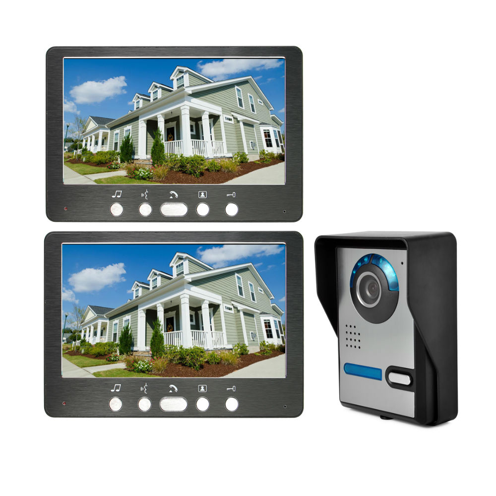 New 2019 Video Ring Doorbell Camera Visual Intercom Night Vision Two-Way Intercom Video Door Phone Video Door Entry Phone Call