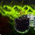 Aquarium decoration Hanging fish tank Mini Crystal Acrylic Pot Polka Water potted planting cylinder cup aquarium accessories
