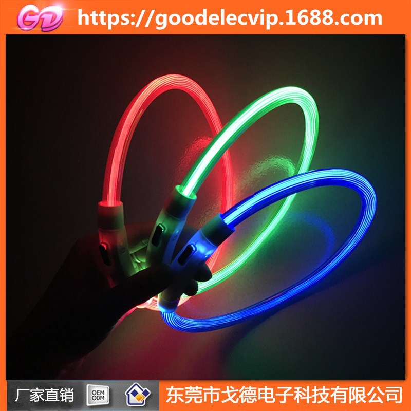 New Products LED Glowing Dog Collar USB Charging Pet Collar Low Price Pet Collar