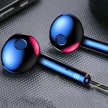 цена на Earphone Headphones For Smart Phone PC Earphones Gaming Music Stereo Bass Headset Wired Earbuds HiFi Headphones With Microphone