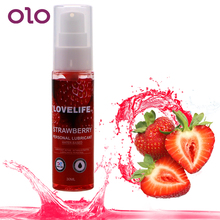 OLO 30ml Strawberry Flavor Edible Lubricant For Anal Vaginal Body Lubricating