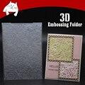 Обычный Узор 3D Пластик тиснение папка для изготовления открыток Скрапбукинг Бумага Сделай Сам ремесленные украшения поставки