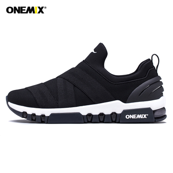 ONEMIX Running Shoes For Men Light Sneakers For Hombre All-match Breathable Sneakers For Outdoor Trekking Walking Running Shoes