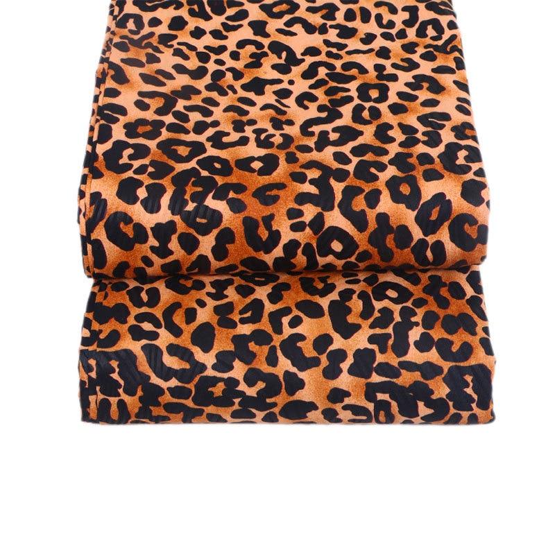 2019 Dutch Wax African Fabric 100% Polyester Leopard Pattern Print Veritable Ankara Real Dutch Wax Fabric