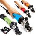 Электрические ножницы для домашнего использования  стрижка шерсти домашнего животного 220 В  4 цвета  67 мм AC мощный высококачественный тримме...