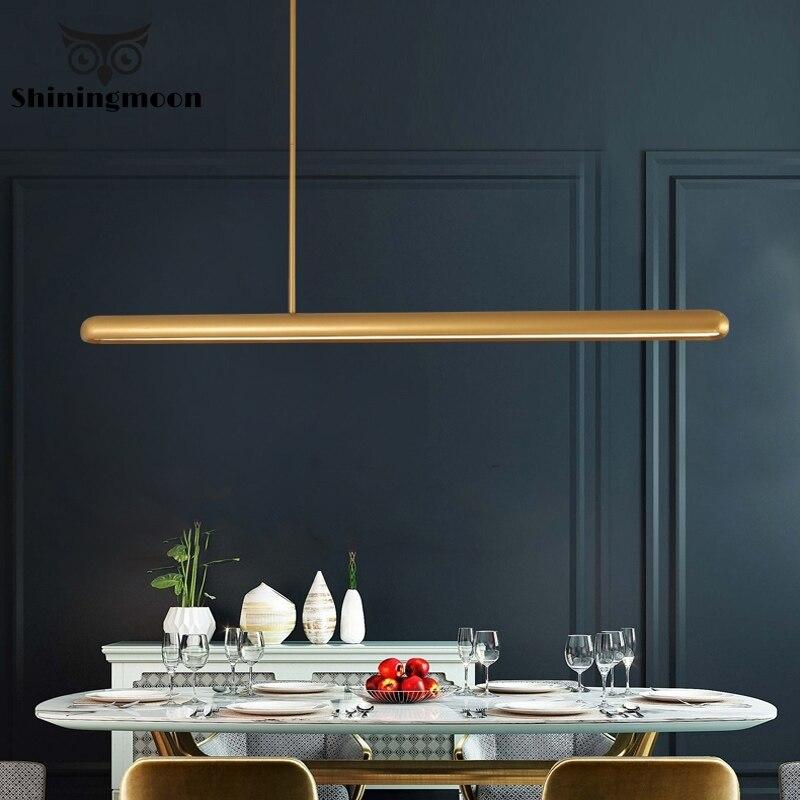 Postmodern Minimalist Iron Art Pendant Lights Nordic Led Gold Chinese Pendant Lamp Loft Industrial Rope Hanglamp Decor Luminaria