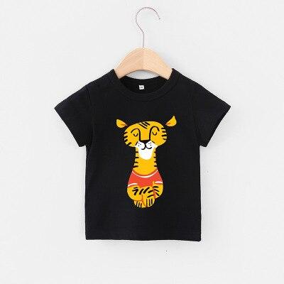 VIDMID 2-6Y boys Clothing Summer Children Infant Kid Boys shirts basic Cartoon Dinosaur Letter T-shirt Tops Shirts Tees 4018 31 3