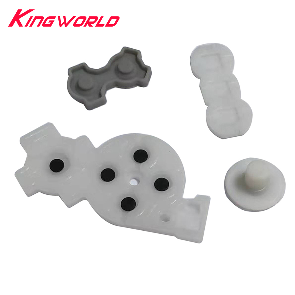 Replacement Conductive Rubber Pads For Wii Game Controller Buttons