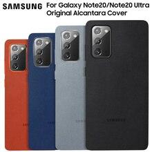 Samsung Điện Thoại Chính Hãng Cho Galaxy Note 20 Note20 Cực Chính Thức Da Lộn Trang Bị Bảo Vệ Hộp Đựng Sang Trọng