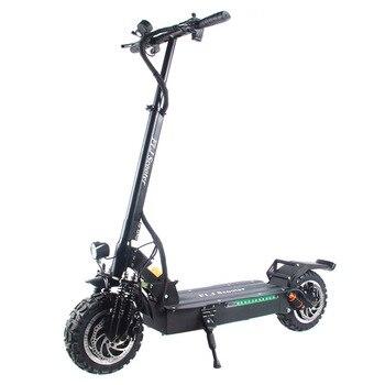 FLJ-patinete eléctrico con Motor Dual, Scooter plegable, de 3200W y 60V
