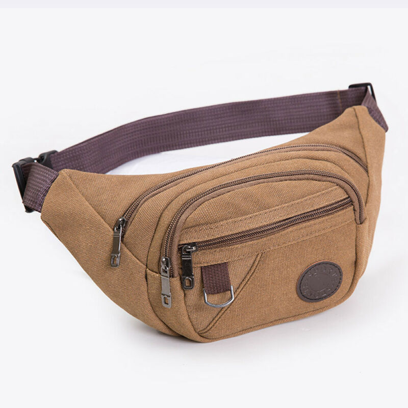 New Large Bum Bag Waist Girls Women Traveling Adjustable Travel Pouch Fanny Pack