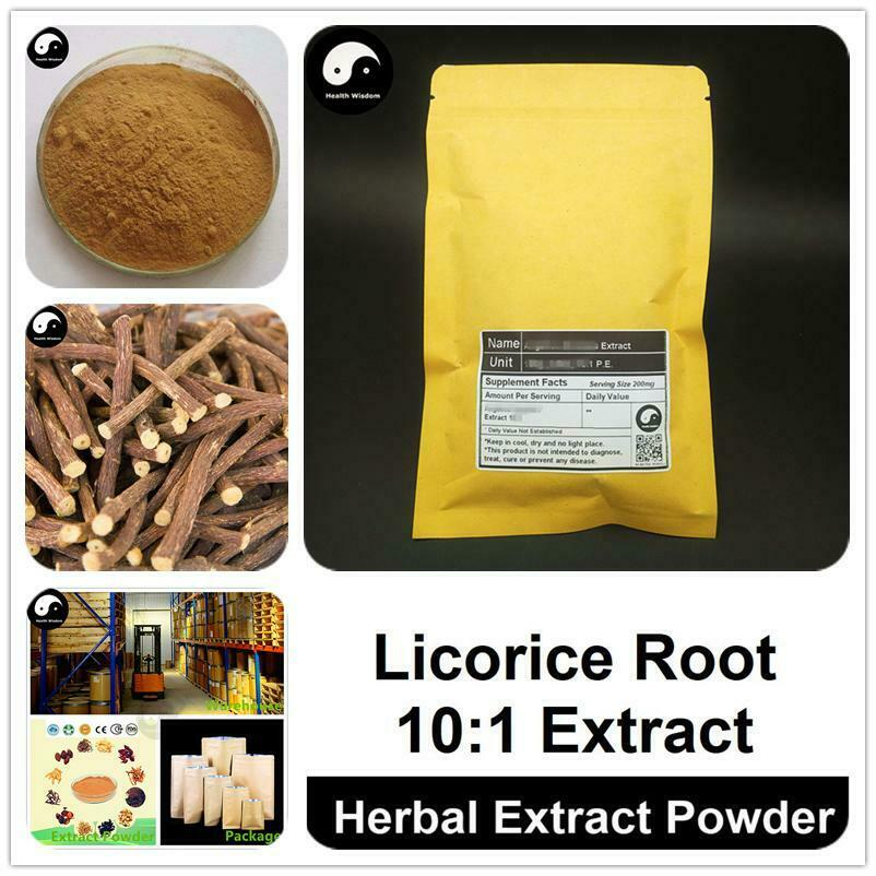 Licorice Root Extract Powder, Radix Glycyrrhizae P.E. 10:1, Gan Cao