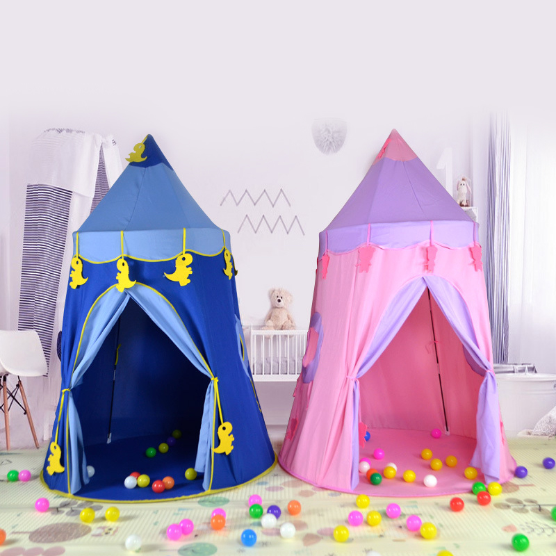 Kids Play Teepee Tent Children Playhouse Tent for Toddler Girls and Boys Indoor