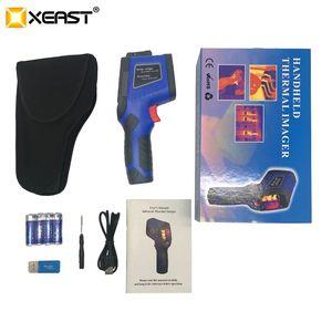 Image 5 - Быстрая доставка, XEAST может измерить температуру человеческого тела, влажность, инфракрасная камера, 3 в 1 Многоцелевой ЖК экран, 2020