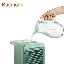 Cooling—Tools USB Desktop Mini Portable Fan Water-cooled Air Cooler Fan Air Conditioner Light Desktop Air Cooling Fan Humidifier