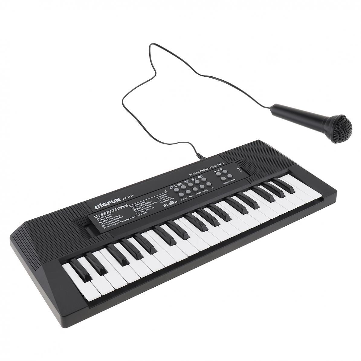 placa chave da música com microfone crianças presente iluminação musical