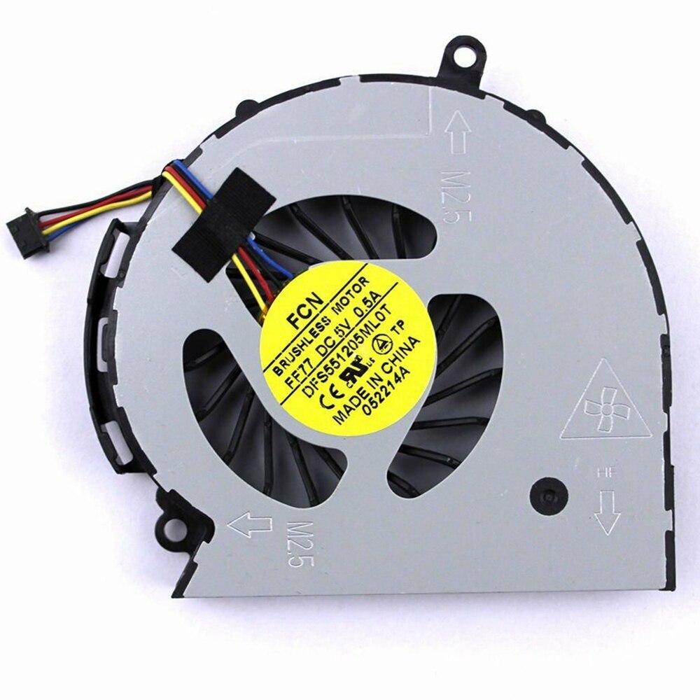 New For HP Pavilion 14-D032 15-d101tx 246G2 Cq15-a101 TPN-F112 TPN-F113 TPN-F114 TPN-F115 Laptop Cpu Cooler Fan