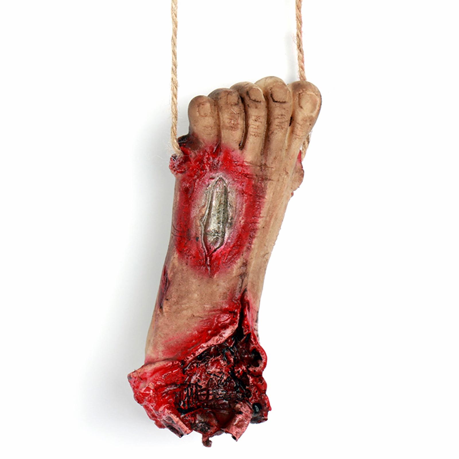 Halloween Decoration Props Horror Realistic Broken Hand Broken Chain Hanging Chain Props Eyeball Broken Hand Party Supplies-in Party DIY Decorations from Home & Garden