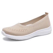 Spring Autumn 2020 New Women Flats Shoes Fashion Loafers Casual Shoes Woman Flying Breathable Shallow Soft Bottom Ladies Shoes fashion new casual flats women soft genuine leather shoes autumn spring loafers woman wo1808112