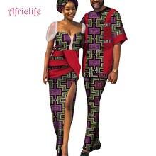 Африканские платья для пары традиционная одежда подарок на день