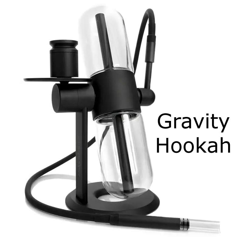 World's Best Newest Stundenglass Gravity Bong 360' Degree Rotation Capsule Borosilicate 3 In 1 Function Water Pipe Hookah Shisha 2