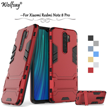 For Xiaomi Redmi Note 8 Pro Case Armor Rubber Hard Phone Back Cover