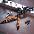 DTBD Universal Schlüssel Rohr Einstellbar Wrench Set Offene Ende 14-30MM/30-60MM Spanner CR-V stahl Snap Werkzeug Klempner Set