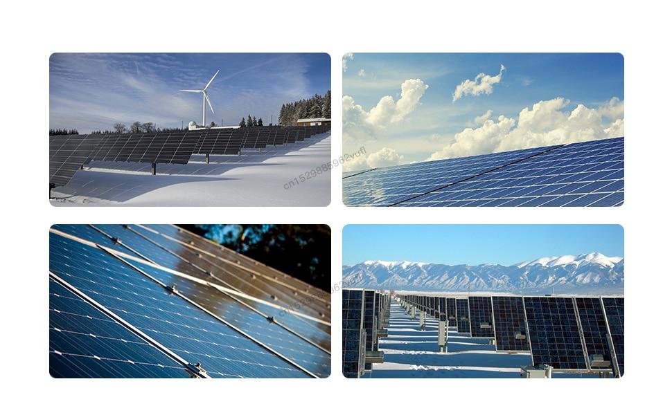 Wvc600 micro inversor solar mppt onda senoidal