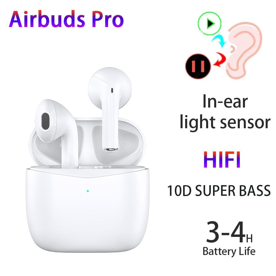 Airbuds Pro Наушники-вкладыши TWS с Беспроводной наушники Airoha 1562A PK Air3 i10 I500 наушники-вкладыши TWS с супер бас Bluetooth Подсветка для наушников Сенсор на...