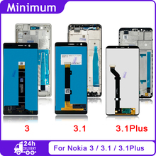 "لنوكيا 3 N3 TA 1032 5.0 ""لنوكيا 3.1 N3.1 TA 1049 5.2"" لنوكيا 3.1 Plus N3.1 Plus TA 1118 6.0 ""LCD شاشة تعمل باللمس"