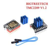 BIGTREETECH TMC2209 V1.2 Schrittmotor Fahrer UART Für Ender 3/5 Reprap SKR V1.3 MKS GEN L VS TMC2208 TMC2130 3D drucker Teile|3D Druckerteile & Zubehör|   -