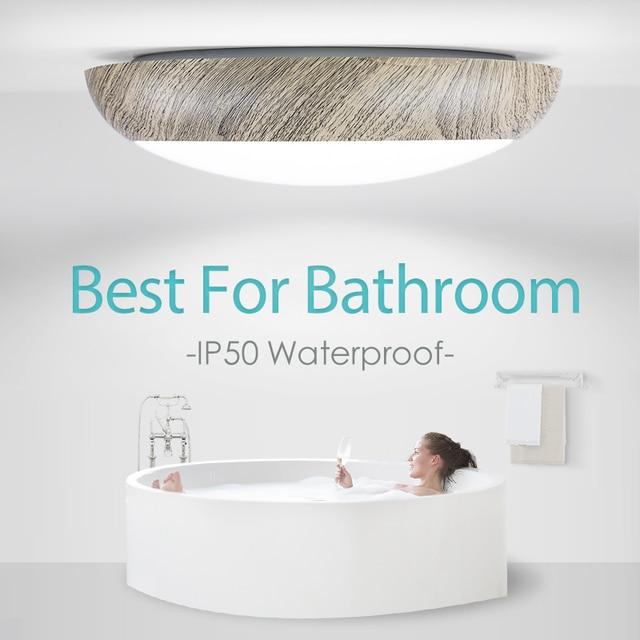 Bathroom led ceiling lights Dimmable waterproof IP50 40w 220v lighting fixtures for Bedroom Livingroom modern ceiling lamps