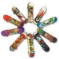 10 шт., пластиковые мини-скейтборды для пальцев