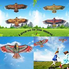 Новые игрушки 1,1 м огромный орел кайт Новинка игрушечный воздушный змей орлы Большой Летающий для детей лучший подарок