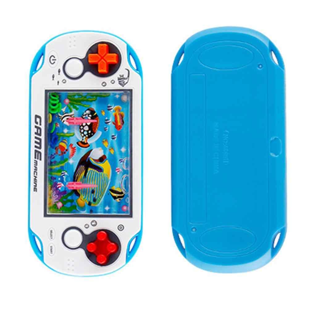 Cultivar chico pensando capacidad juguetes anillo de agua tirar Niño de mano máquina de juego de padre-hijo juego interactivo juguetes de Color al azar