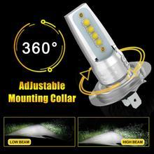 цена на 2PCS/set H7 LED Headlight Car Front Bulb Super Bright White Beam 110W 6000K Car Modeling Fog Light Kit Car Accessories L15