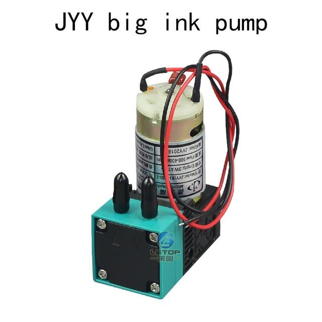 3 unids/lote de tinta solvente para impresora de inyección de tinta al aire libre JYY 24v 6,5 w bomba de inyección de tinta