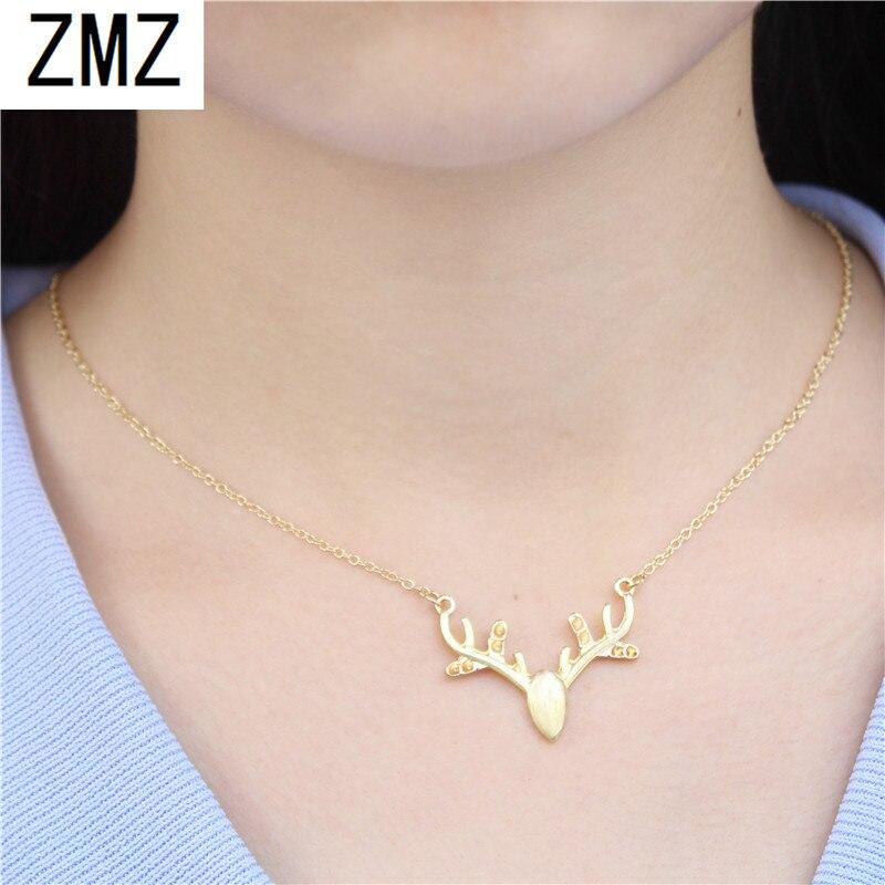 ZMZ 2019 30 pièces Europe/US mode mignon solide bois pendentif géométrie collier cadeau pour maman/petite amie fête bijoux