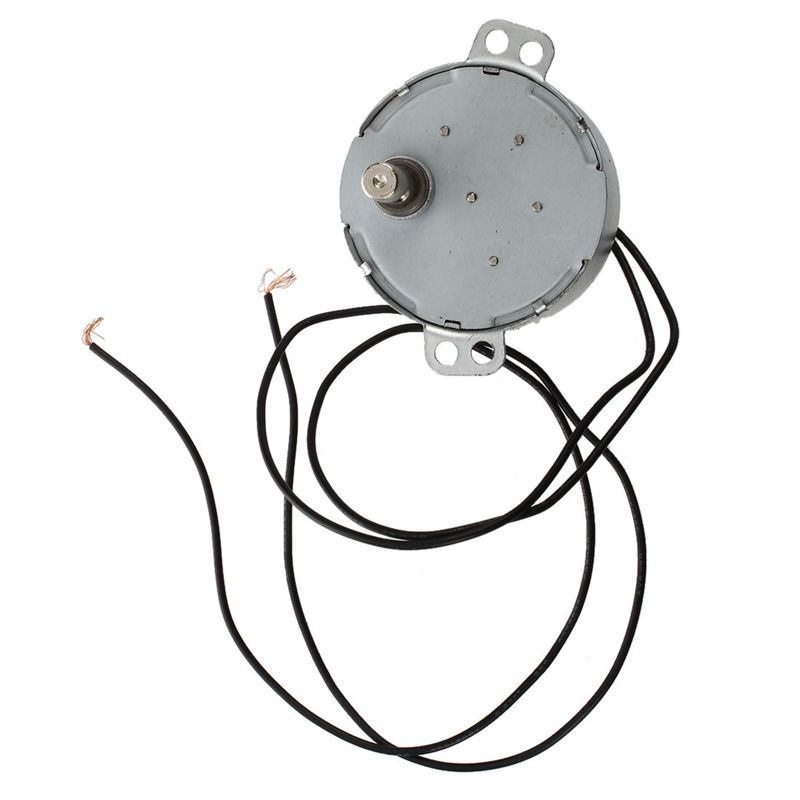 New CCW/CW Direction 50/60Hz Frequency 8-10RPM Synchronous <font><b>Motor</b></font> <font><b>AC</b></font> 220-240V 4W image