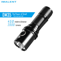 2019 Imalent DM35 LED Flashlight CREE XHP35 HI 2000 Lumens with USB Cable 21700 Rechargeable Battery for camping