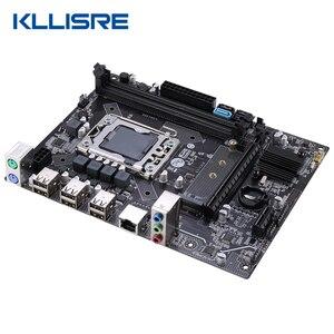 Image 3 - Kllisre X9A האם סט עם Xeon LGA 1356 E5 2420 C2 2x4GB = 8GB 1333MHz DDR3 ECC REG זיכרון