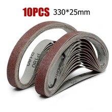 Belt Sanding Belts For Angle Grinder Sanding 25*330mm 40-1000Grit Newest